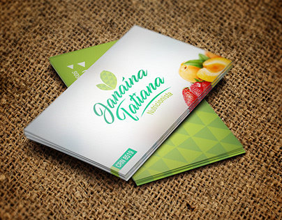 Identidade Visual e Papelaria - Janaína Nutricionista