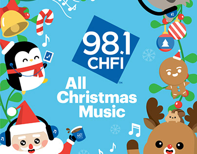 98.1 CHFI All Christmas Music Campaign