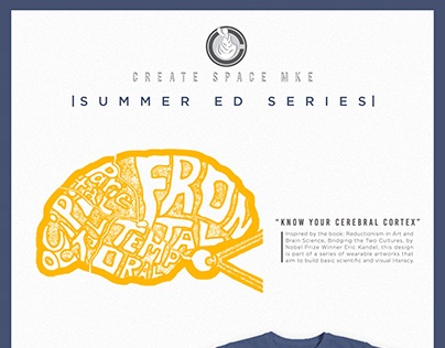Summer Ed Series Know Your Brain Apparel Design