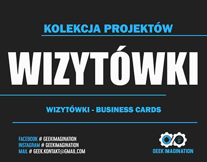 Wizytówki | Business cards | Kolekcja projektów