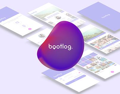 Bootlog application design