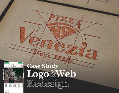 Venezia Logo & Web Redesign