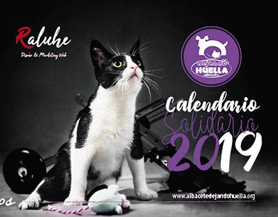 Calendario Sobremesa DHA 2019. Raluhe