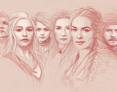 Game of Thrones Portraits
