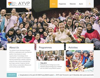 AYVP Asia Engage - Website Revamp