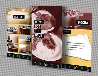 Grind: Coffee Shop App and Website