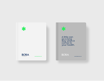 """Visual Branding done for our client """"BORA Pharmacy"""""""