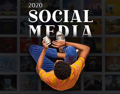Social Media designs for 2020
