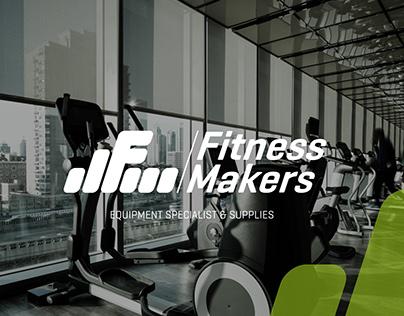 Fitness Makers Logo Branding