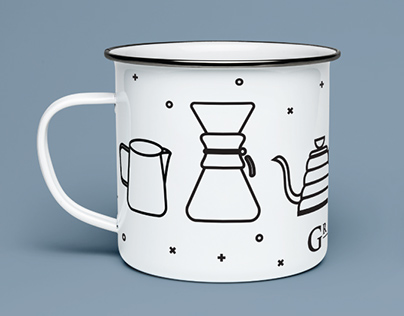 Greyhouse Coffee Mug