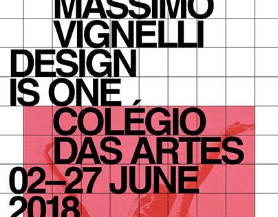 Design is One—Identidade Exposição