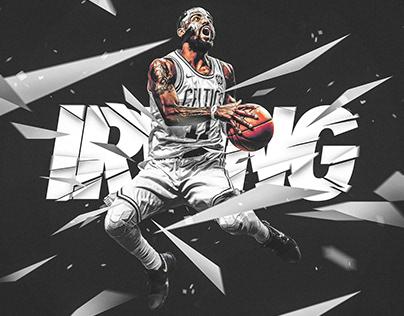 Nike Poster (Spoof) | Kyrie Irving #11 | Boston Celtics