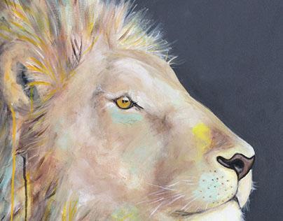 Peinture Baca, acrylique sur toile galerie