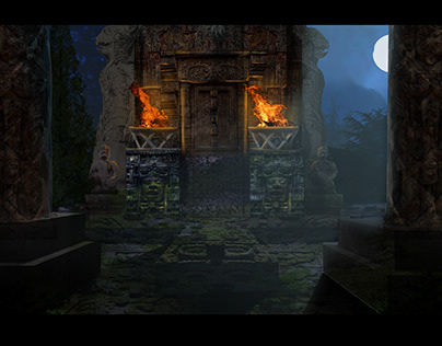 Star Stone: Concept Art of Temple Level