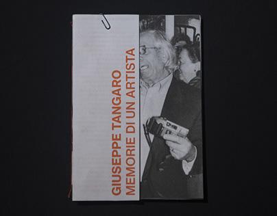 Memorie di un Artista / Giuseppe Tangaro