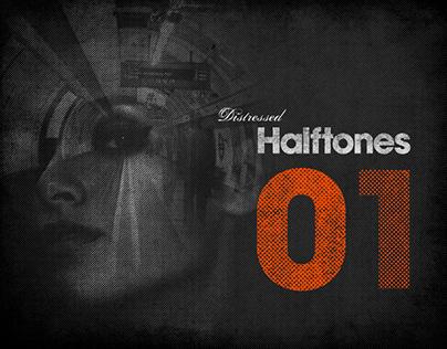 Distressed Halftones 01
