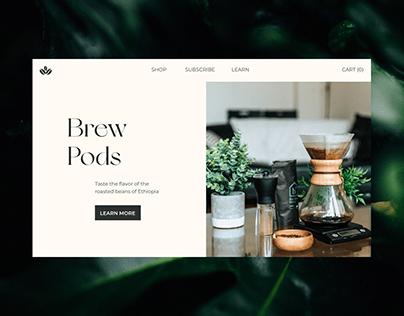 Brew Pods / Online Shop