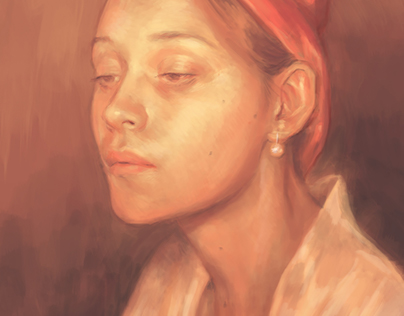 Baroque Self Portrait