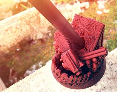 Awesome 3D Printed Custom Wacom Pen Holders