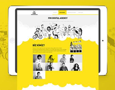 FOK Digital Agency | UI Design & Illustrations