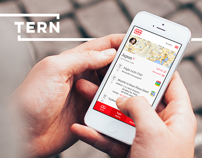Tern - Travel concept app