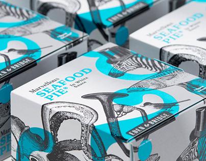 Eden & Bridge - Premium Pie Packaging Design & Branding