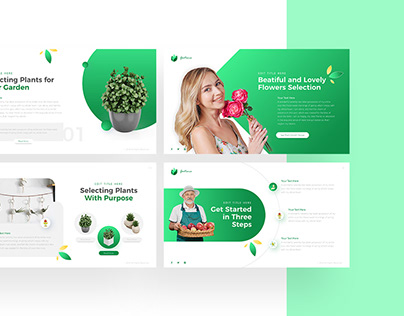 Gartenia - Gardening Powerpoint and Keynote Template