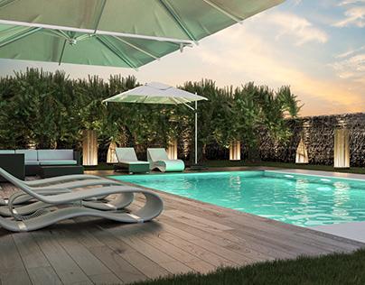 Private Pool in Vilamoura