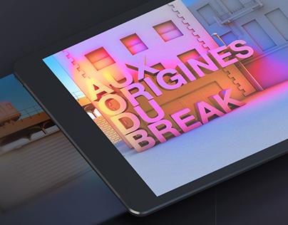 Aux Origines du Break   App Concept