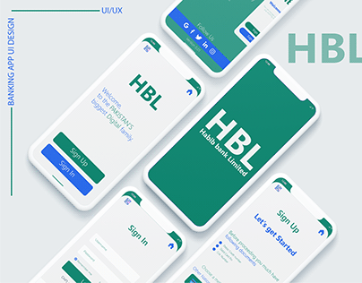 HBL - Banking app redesign