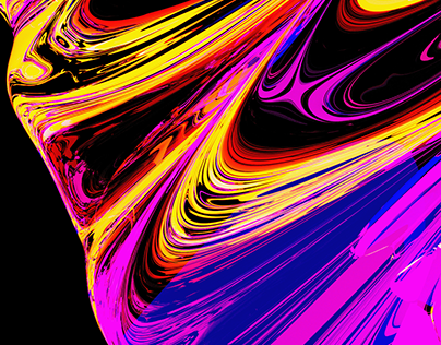 Colors flows in 3D