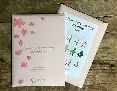 Cherry Blossom Tree Calendar
