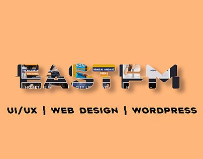 Web Design/ UI/UX for East FM Kenya