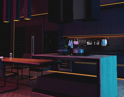 BR Light Kitchen