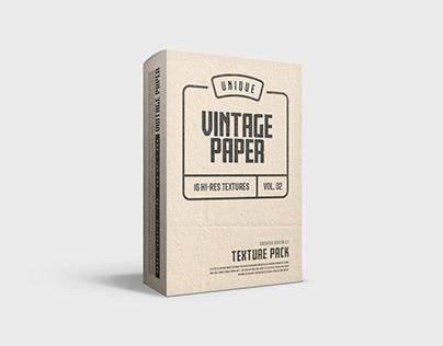 Vintage Paper Texture - Vol. 02
