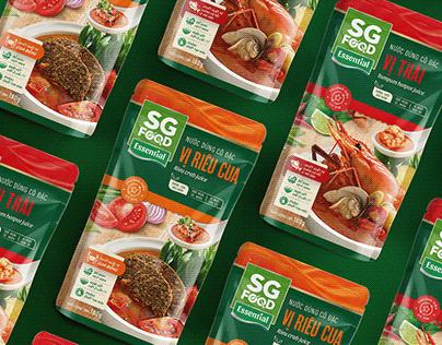 SaiGon Food Packaging Revamp