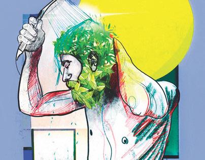 Illustrations -Newspaper art-