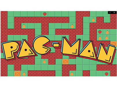 PAC MAN Motion Graphic
