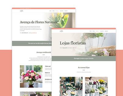 Lifls - Web design