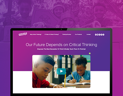 ThinkUp! Product and Media Microsite - MentoringMinds