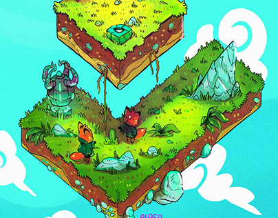 Hovering Islands 4