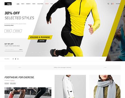 Clean WooCommerce Website Design