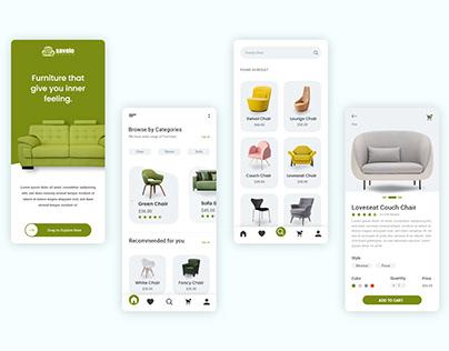 Furniture Apps design