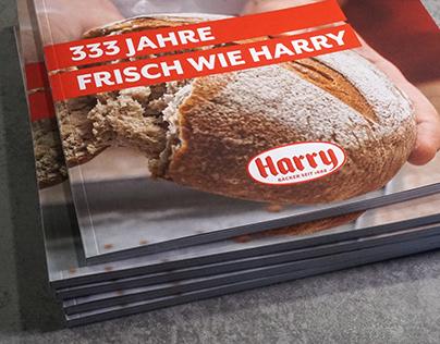 EDITORIAL DESIGN: Broschüre 333 Jahre frisch wie Harry