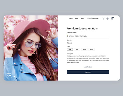 E-Commerce Online Shopping Landing Page