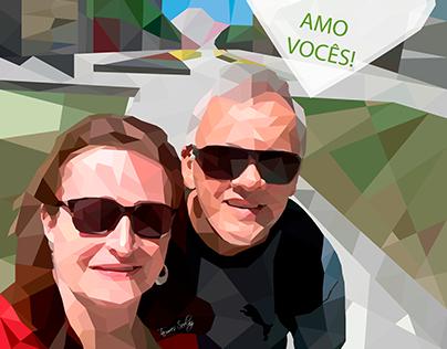 Meu Pais! AMO VOCÊS! | My Parents! LOVE YOU!