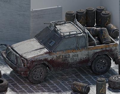 Zombie Apocalypse Survival Jeep