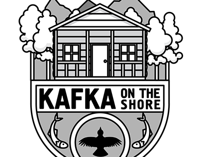 Kafka on the Shore - Murakami Badge