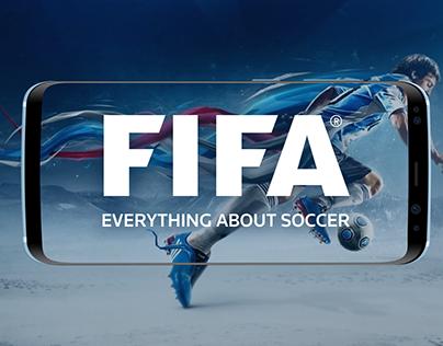 FIFA Application UI Design