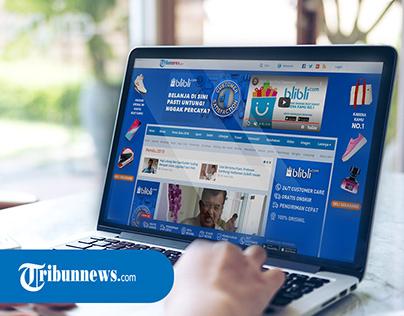 Creative Ads - Colortone Tribunnews Client Blibli